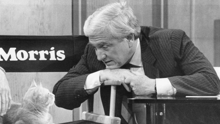 Merv Griffin interviews Morris the Cat