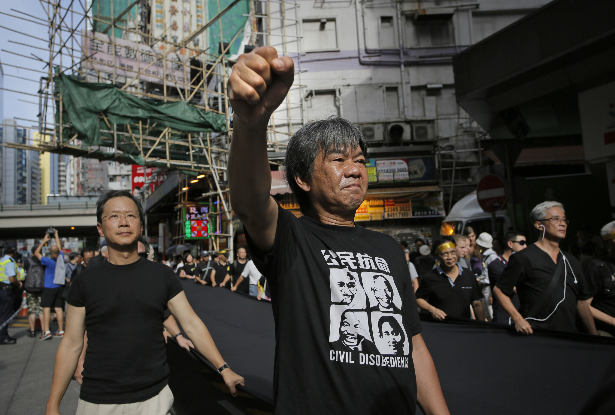 Prominent Hong Kong activist says protesters need to unify, strategize