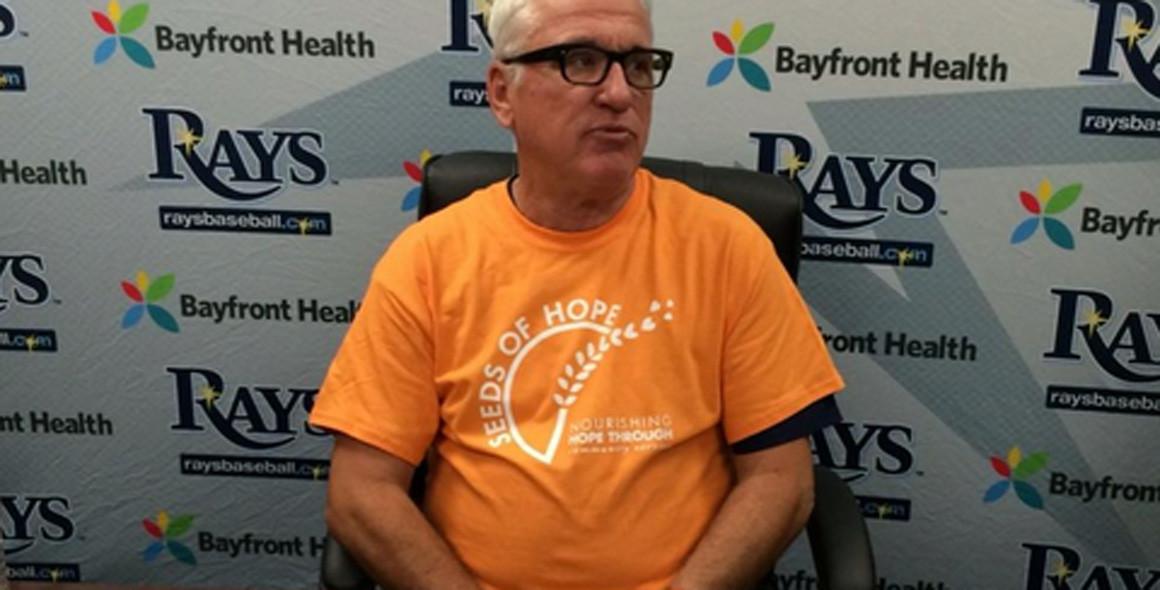 joe maddon models t shirts for charity chicago tribune