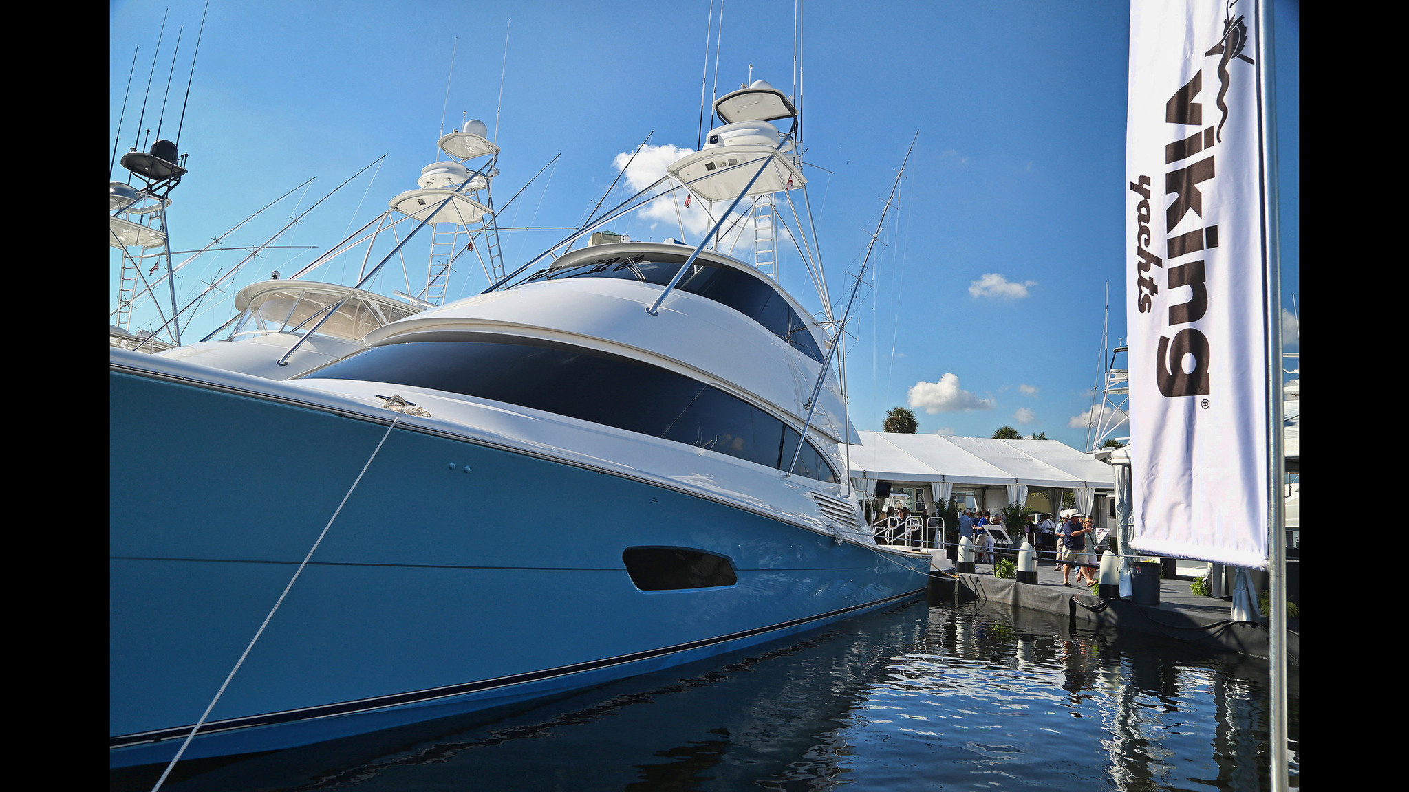 Check Out The 102 Million Viking 92 Convertible Yacht