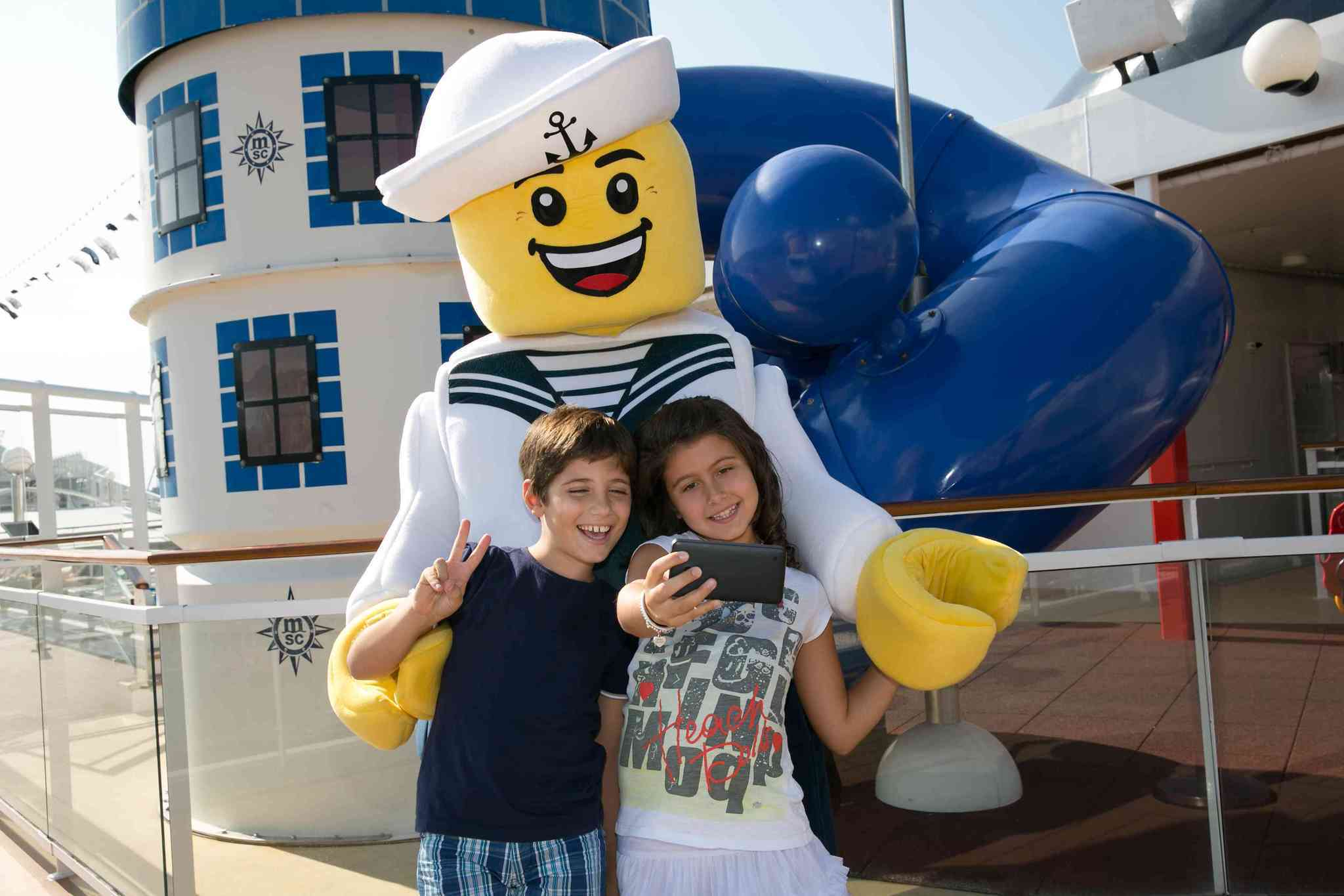 It's child's play with the Lego Experience MSC Cruises