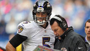 Offensive coordinator Gary Kubiak concerned about Ravens' recent turnover trend