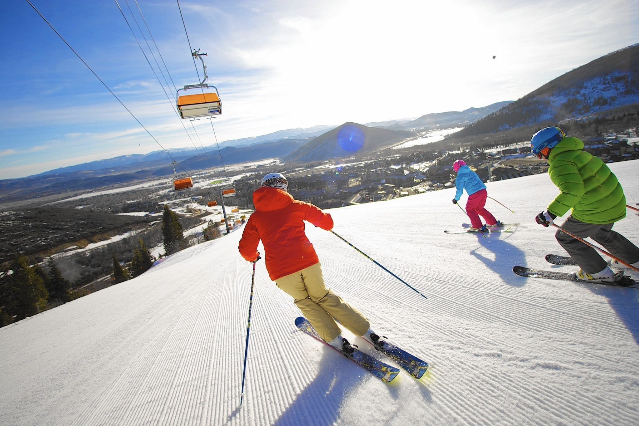 Park City's Canyons ski resort is well on its way to the big time