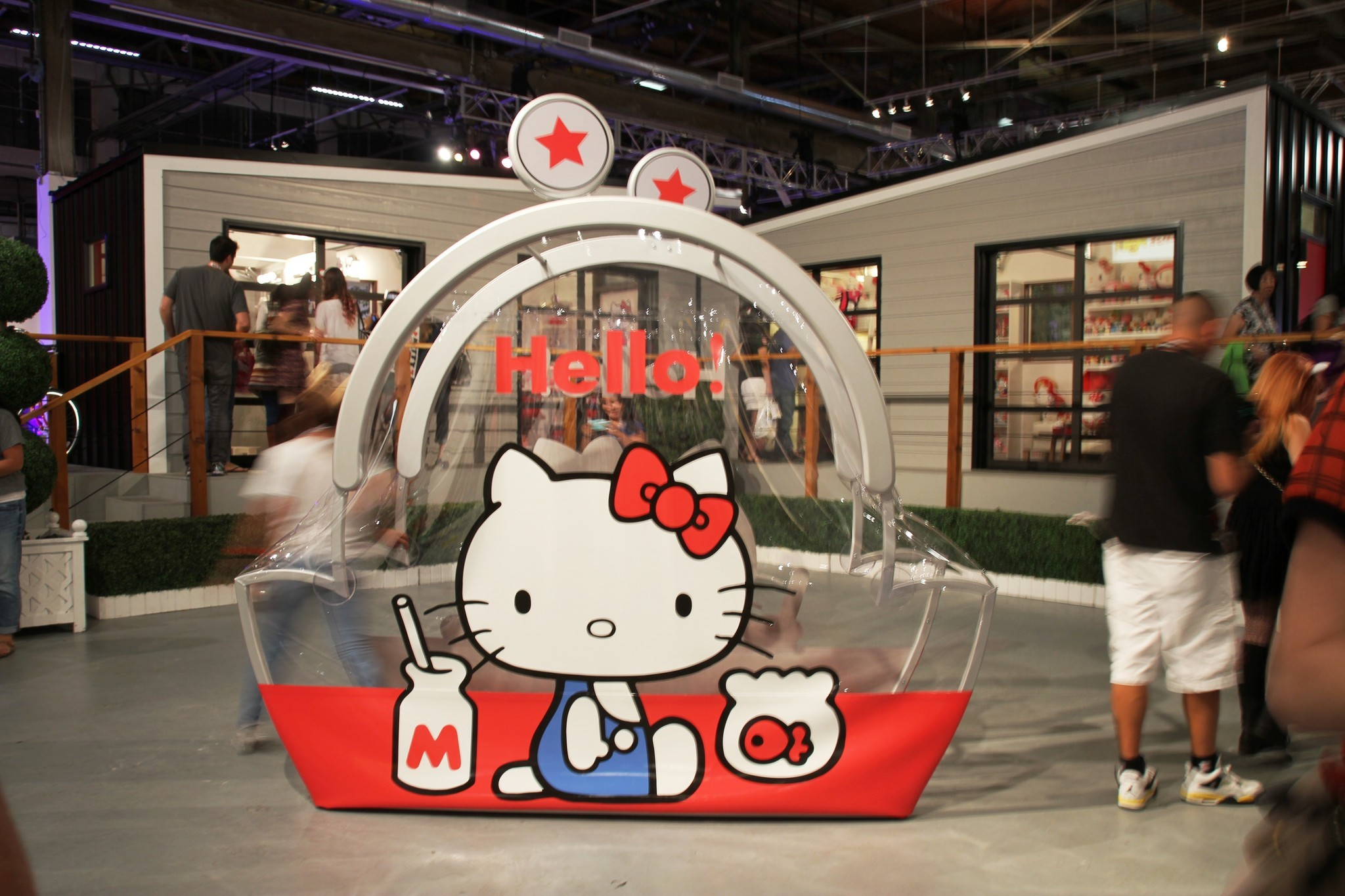 Like Black Friday but way cuter: First Hello Kitty Con opens in L.A.