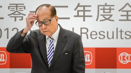 Hong Kong tycoon Li Ka-shing