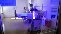 Saul, the Ebola-zapping robot