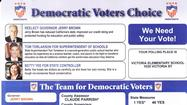 Costa Mesa's conservative mayor on mailer with Democrats