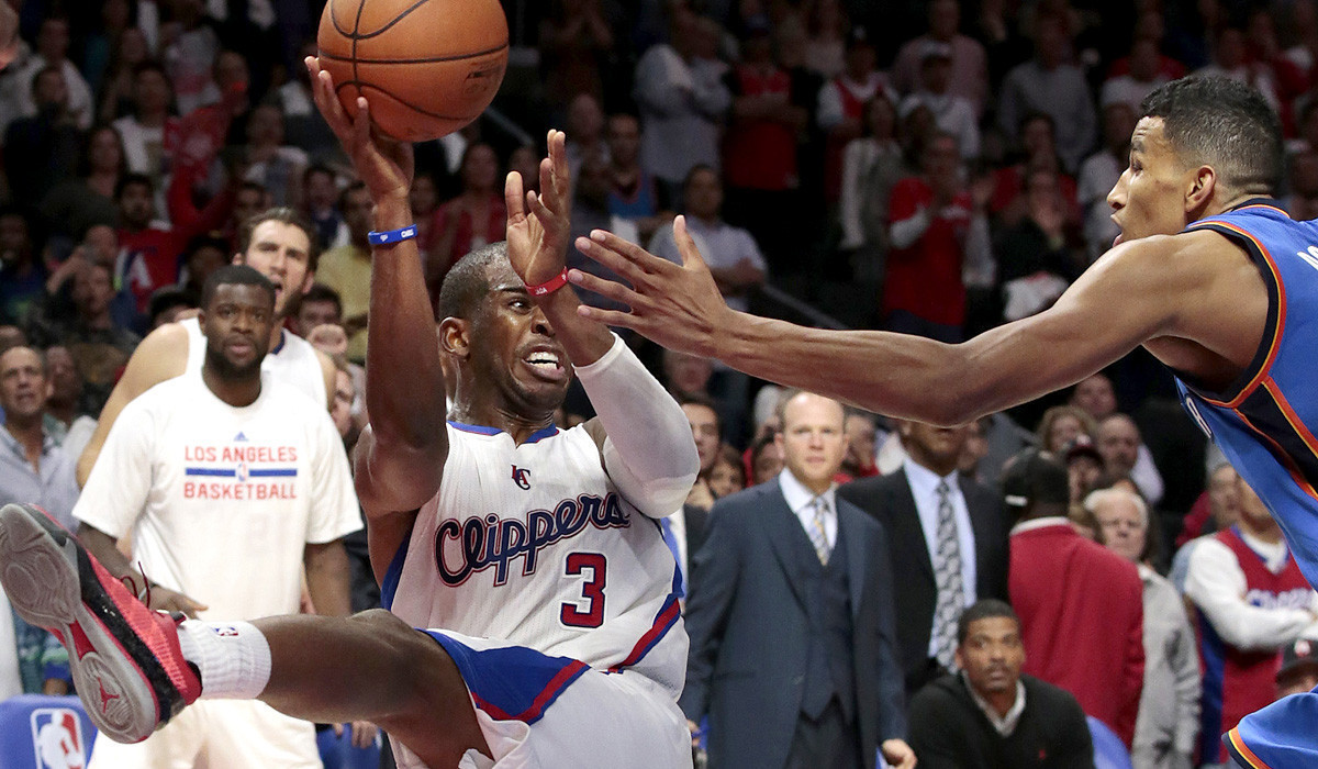 Clippers open Steve Ballmer era with 93-90 victory over the Thunder