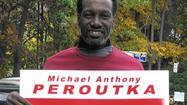 Peroutka supporter hits the street and gets an earful