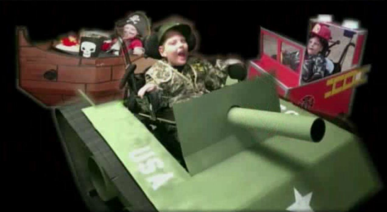 dad builds elaborate costumes for son in wheelchair - orlando sentinel
