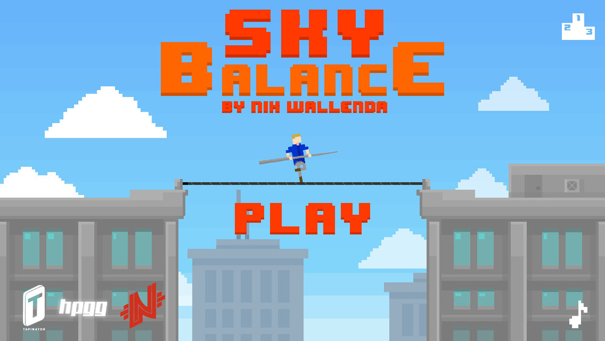 SkyBalance by Nik Wallenda: The game app before the walk