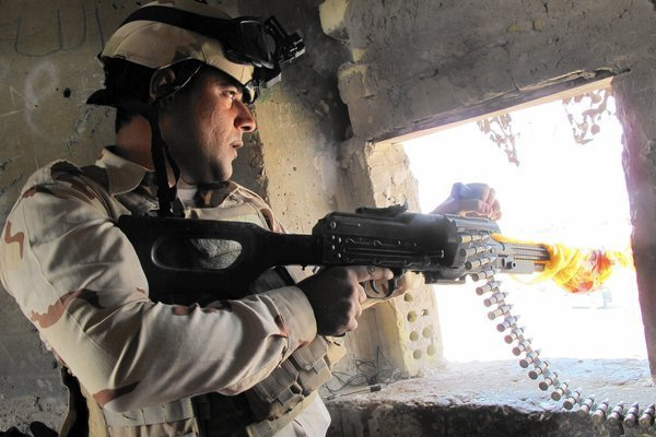Iraqi forces insist Baghdad airport, lifeline to the world, is secure