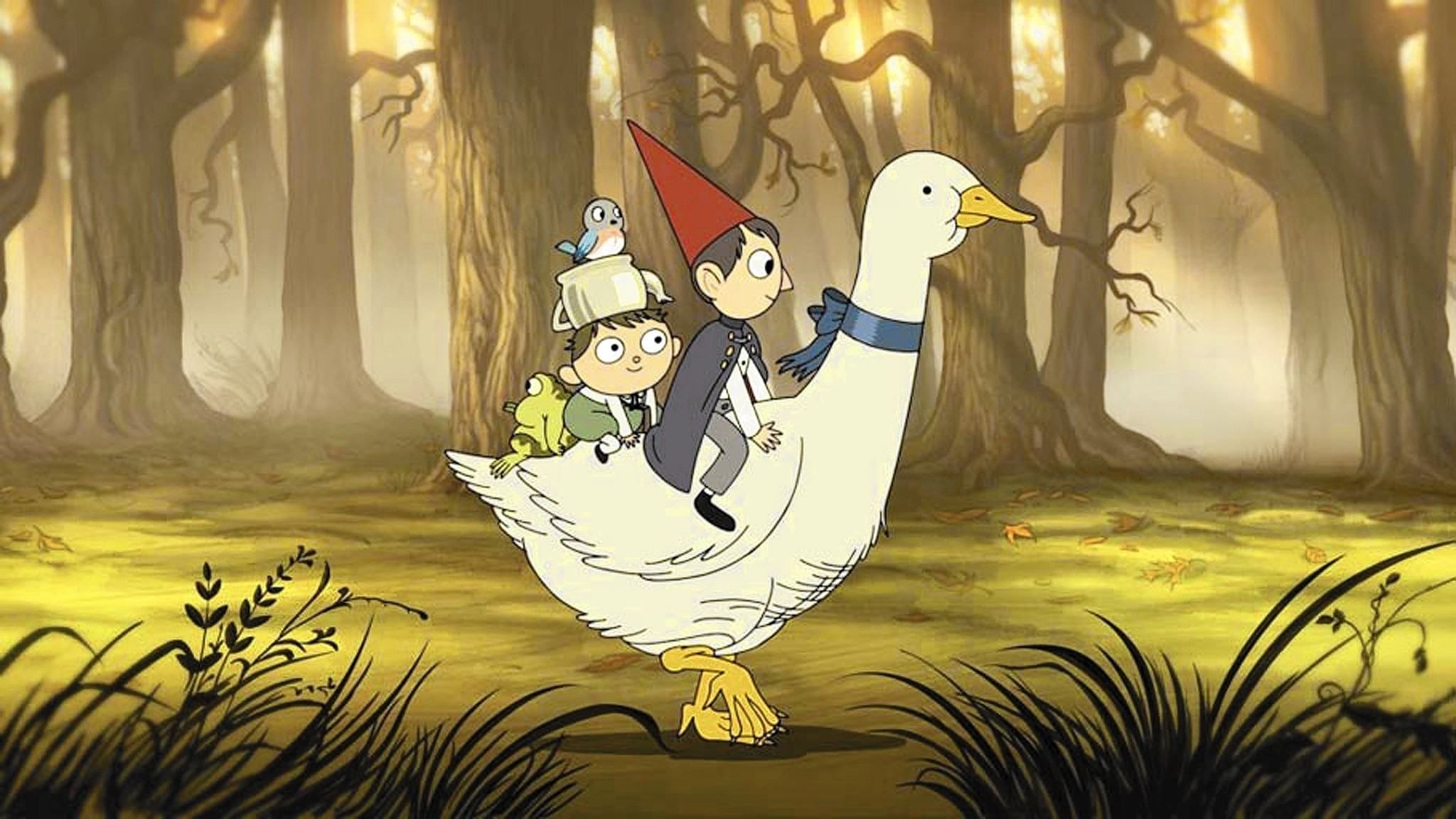 Review Welcome To A Land Of Enchantment In 39 Over The Garden Wall 39 La Times