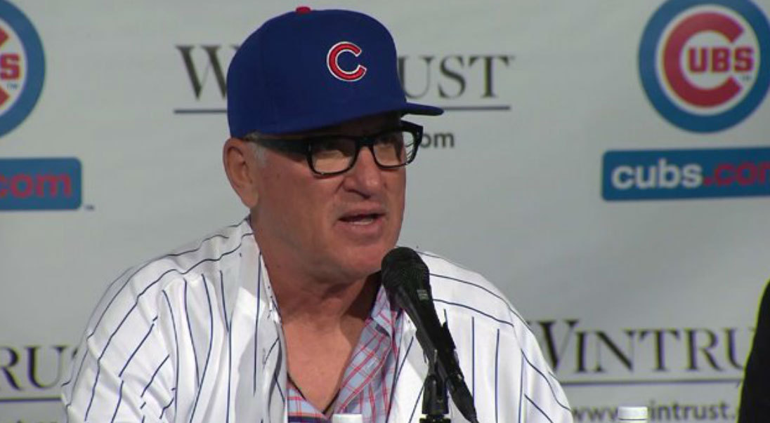 The over-under on when Joe Maddon's honeymoon ends