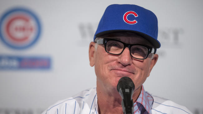 Image result for joe maddon hired by cubs
