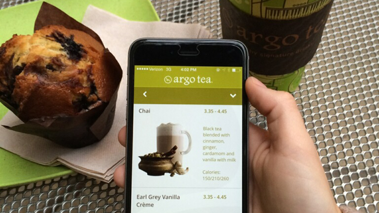 Argo Tea launches app that allows customers to order, pay from phone