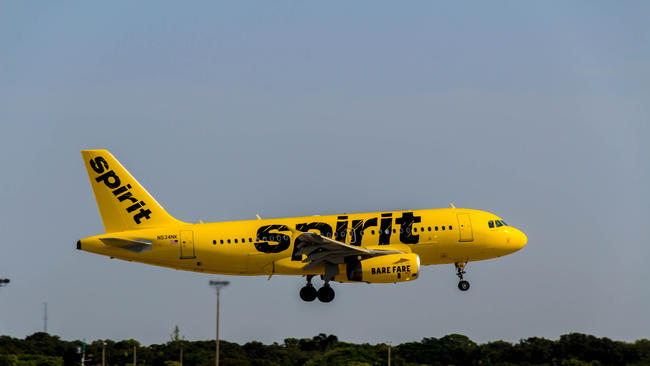 Spirit Airlines Livery Spirit Airlines Plane Sports