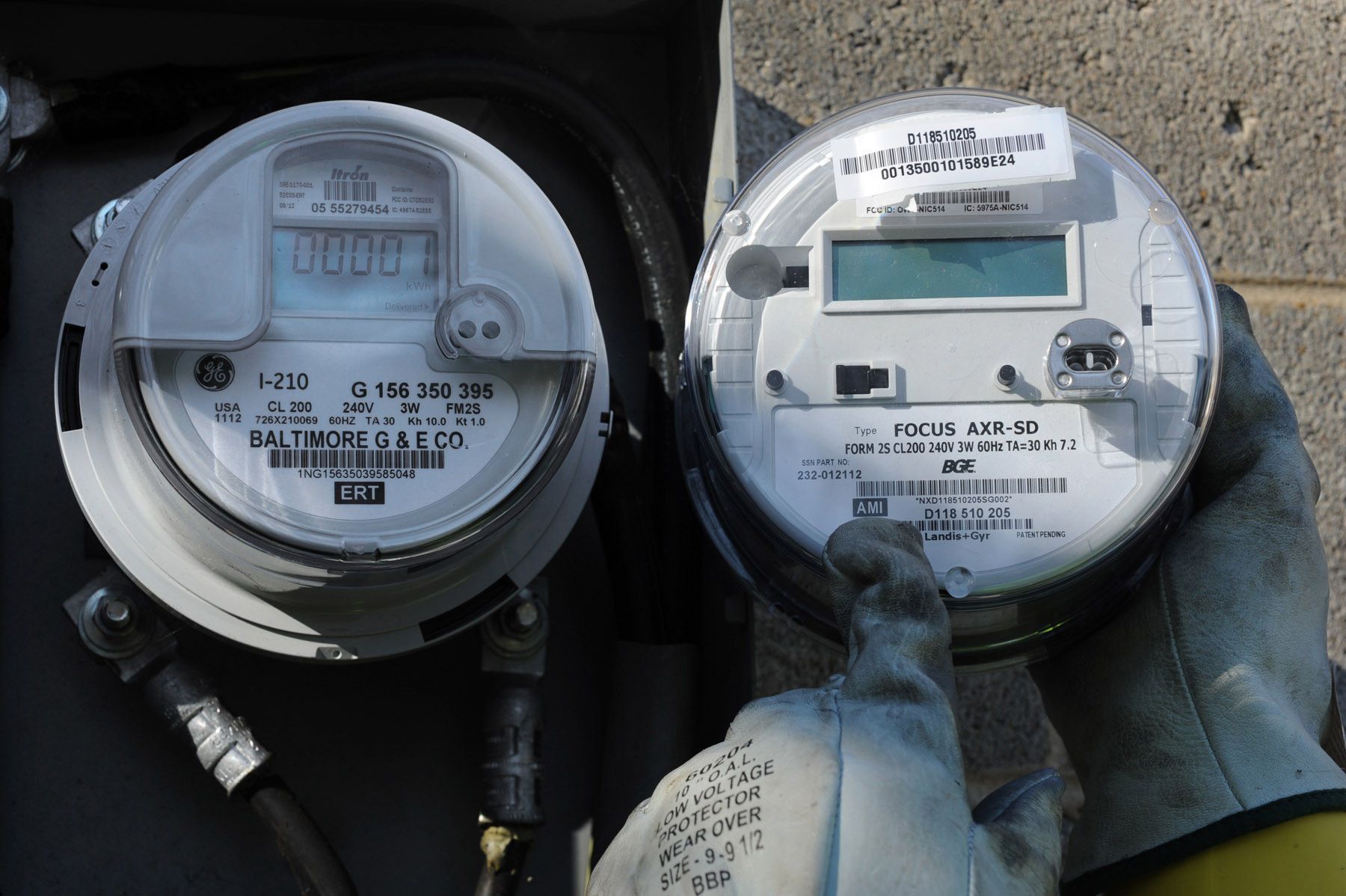 Install Utility Meters : Tips for energy usage in winter baltimore sun