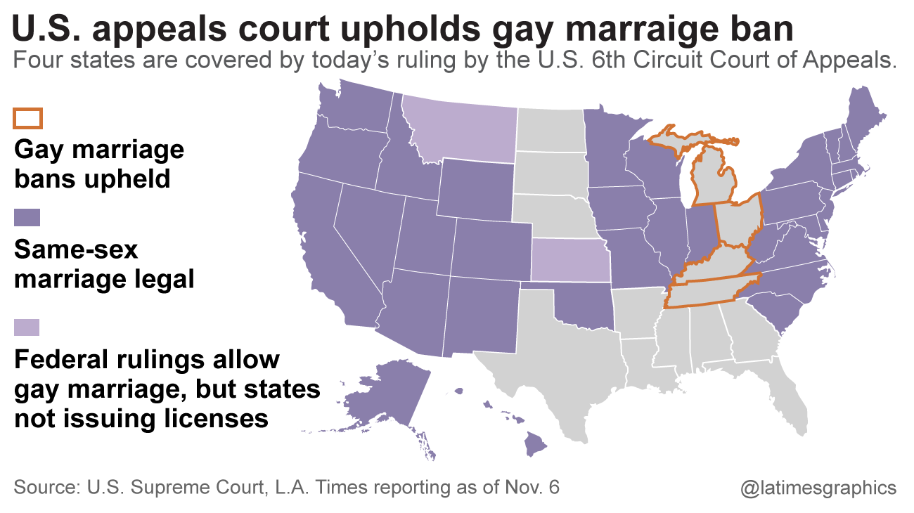 state cases against gay marriage
