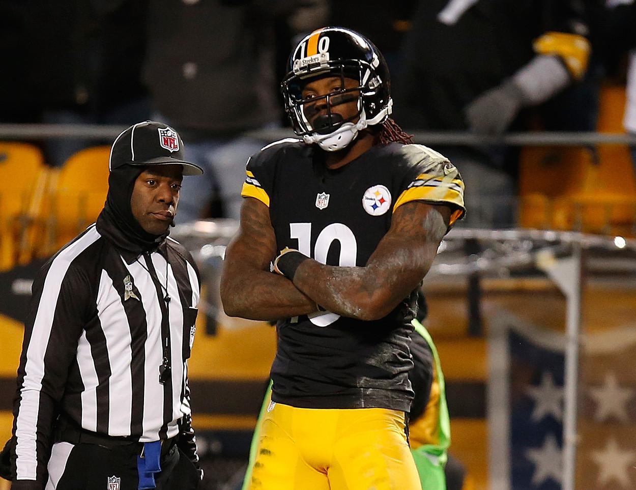 Fantasy start sit for Week 10 Steelers Martavis Bryant has the