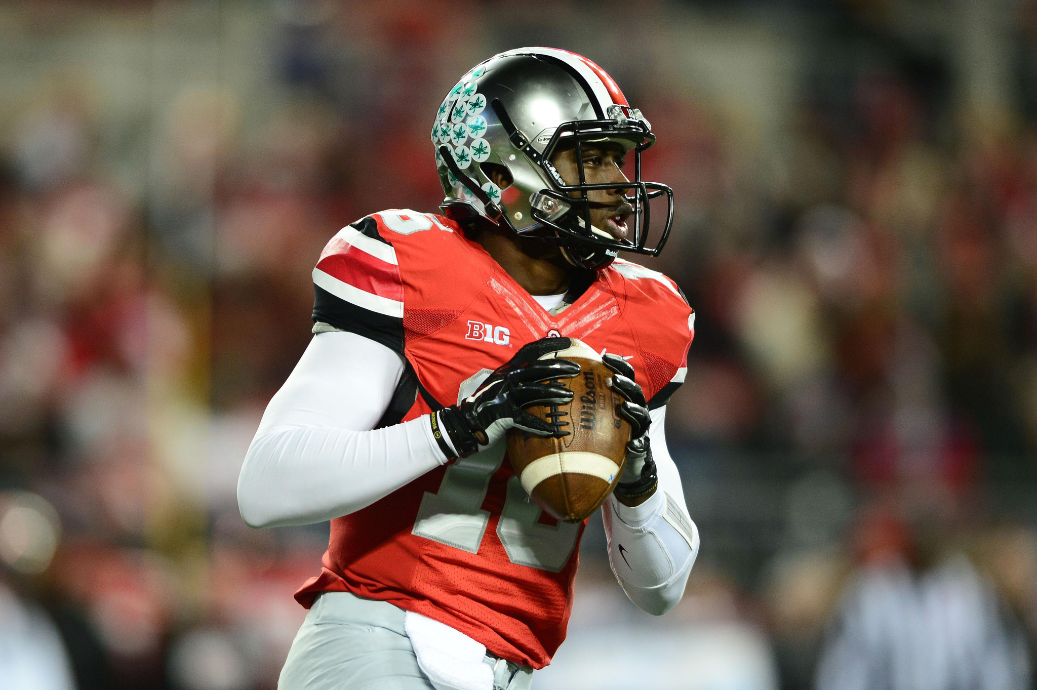 "J.T. Barrett in spotlight vs. Michigan State ""D"" - Chicago ..."
