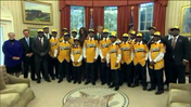 Jackie Robinson West team visits White House