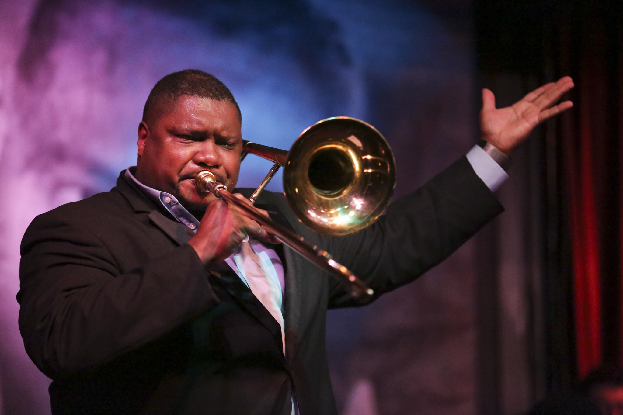 Concert Review Wycliffe Gordon At Jazz Showcase Chicago