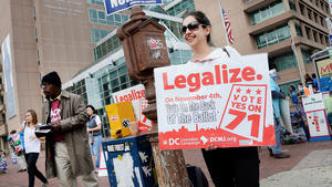 Related story: Pot legalization faces uncertain future in Washington