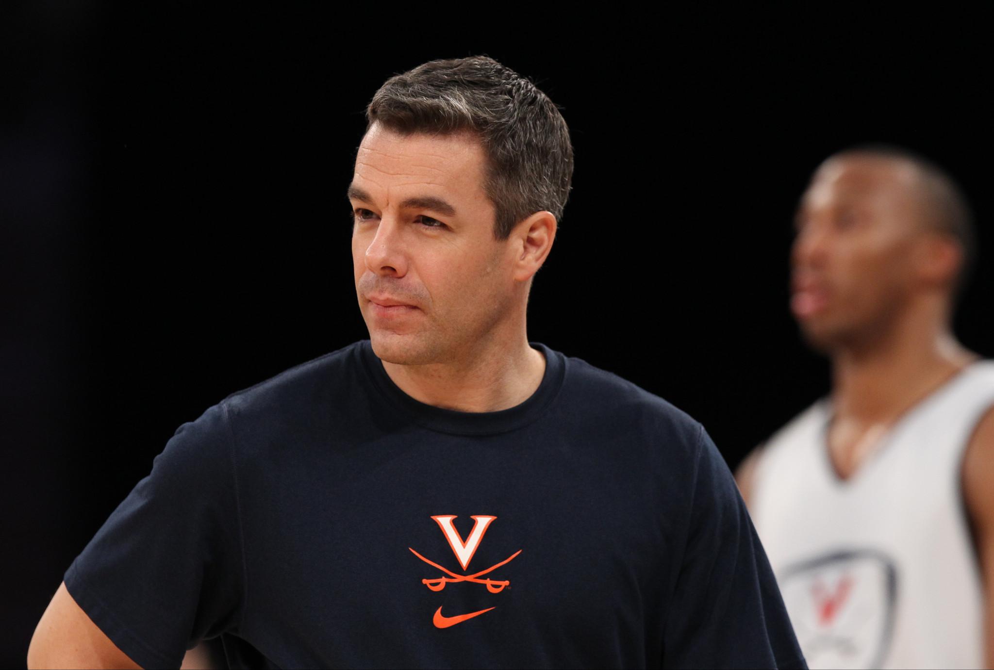 Virginia coach Tony Bennett - Daily Press