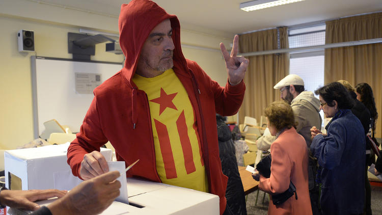 Catalonia independence vote