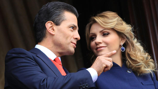 Mexican president and wife