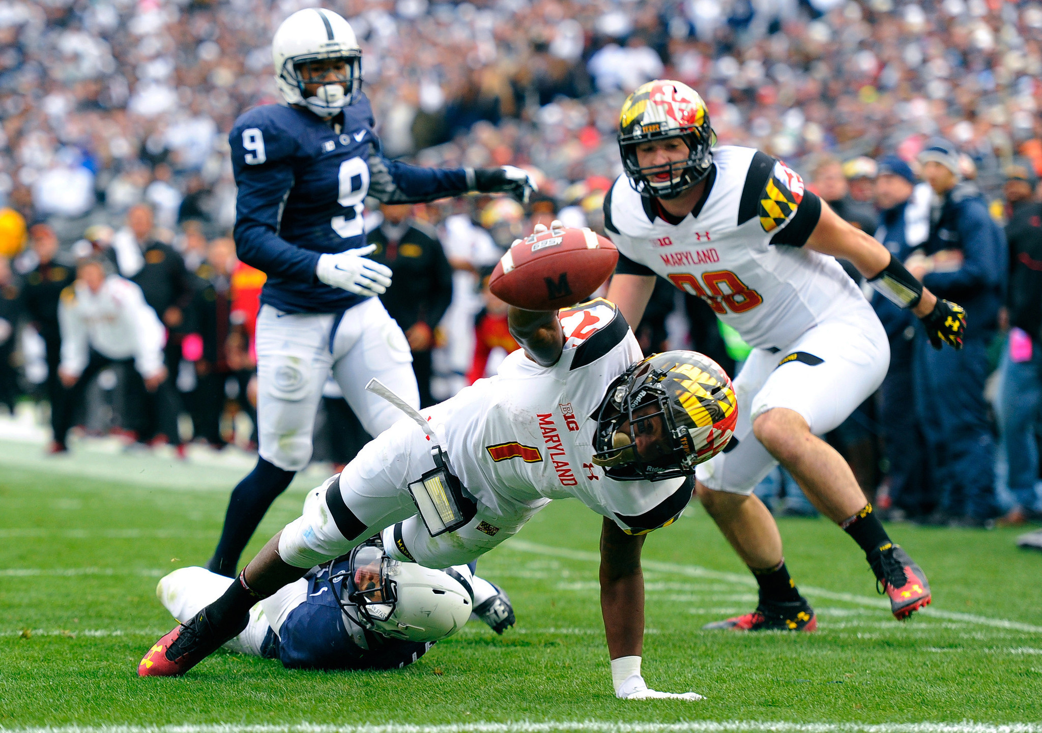 Maryland s Stefon Diggs lacerated kidney against Penn State
