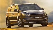 2015 Kia Sedona tries to redefine minivan as MPV