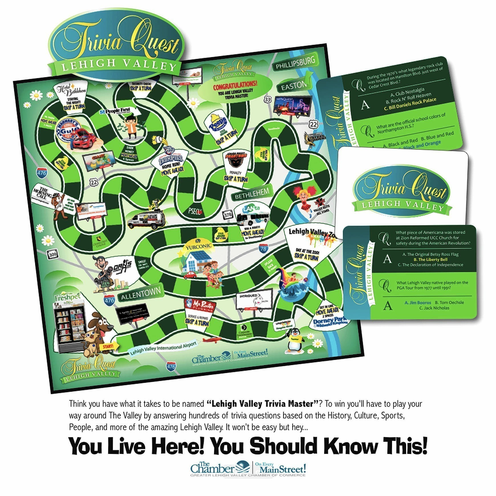 Lehigh Valley trivia game to hit stores - Capital Gazette