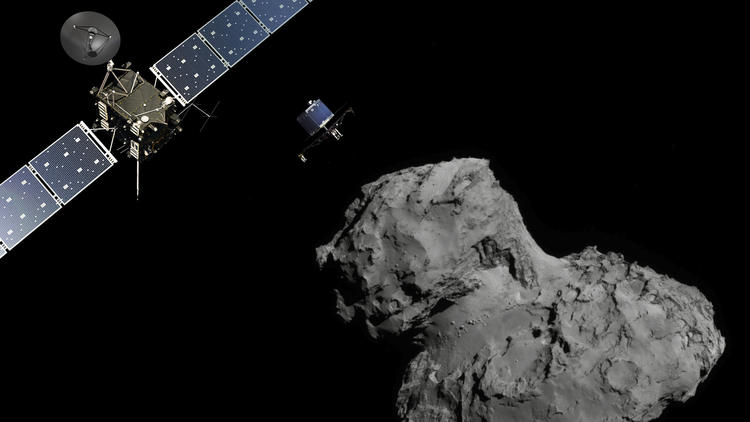 The European Space Agency's audacious mission to land a spacecraft on a comet
