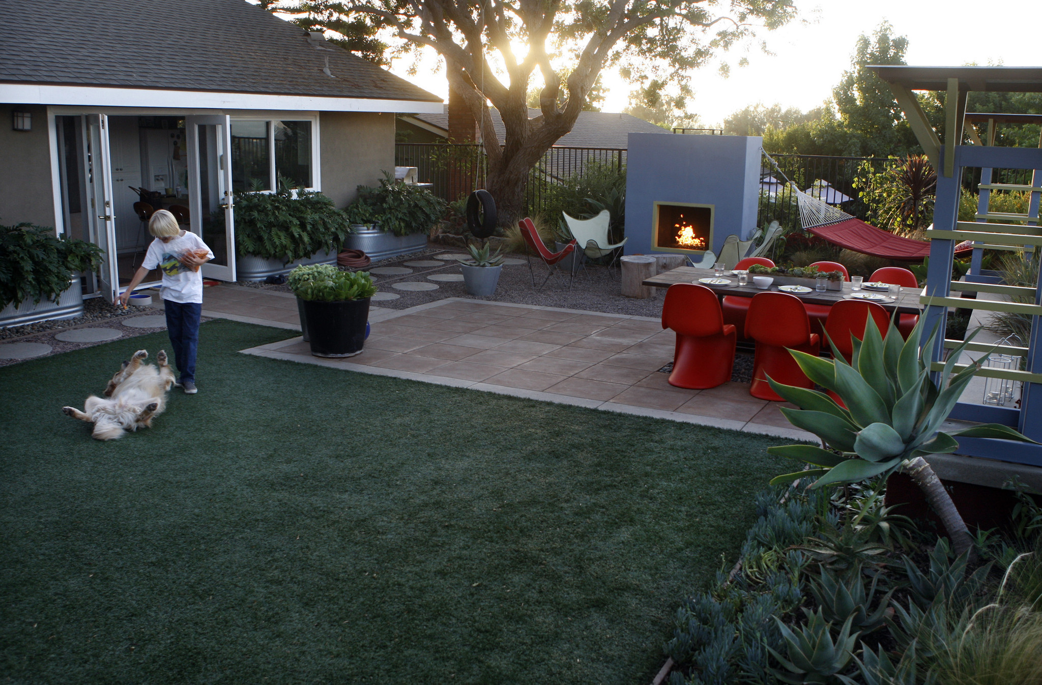 are you an environmental enemy if you replace your thirsty lawn with fake grass la times