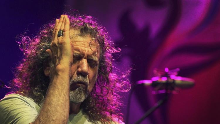 "Robert Plant is releasing a new solo album, ""Carry Fire,"" on Oct. 13. (Wong Maye-E / Associated Press)"