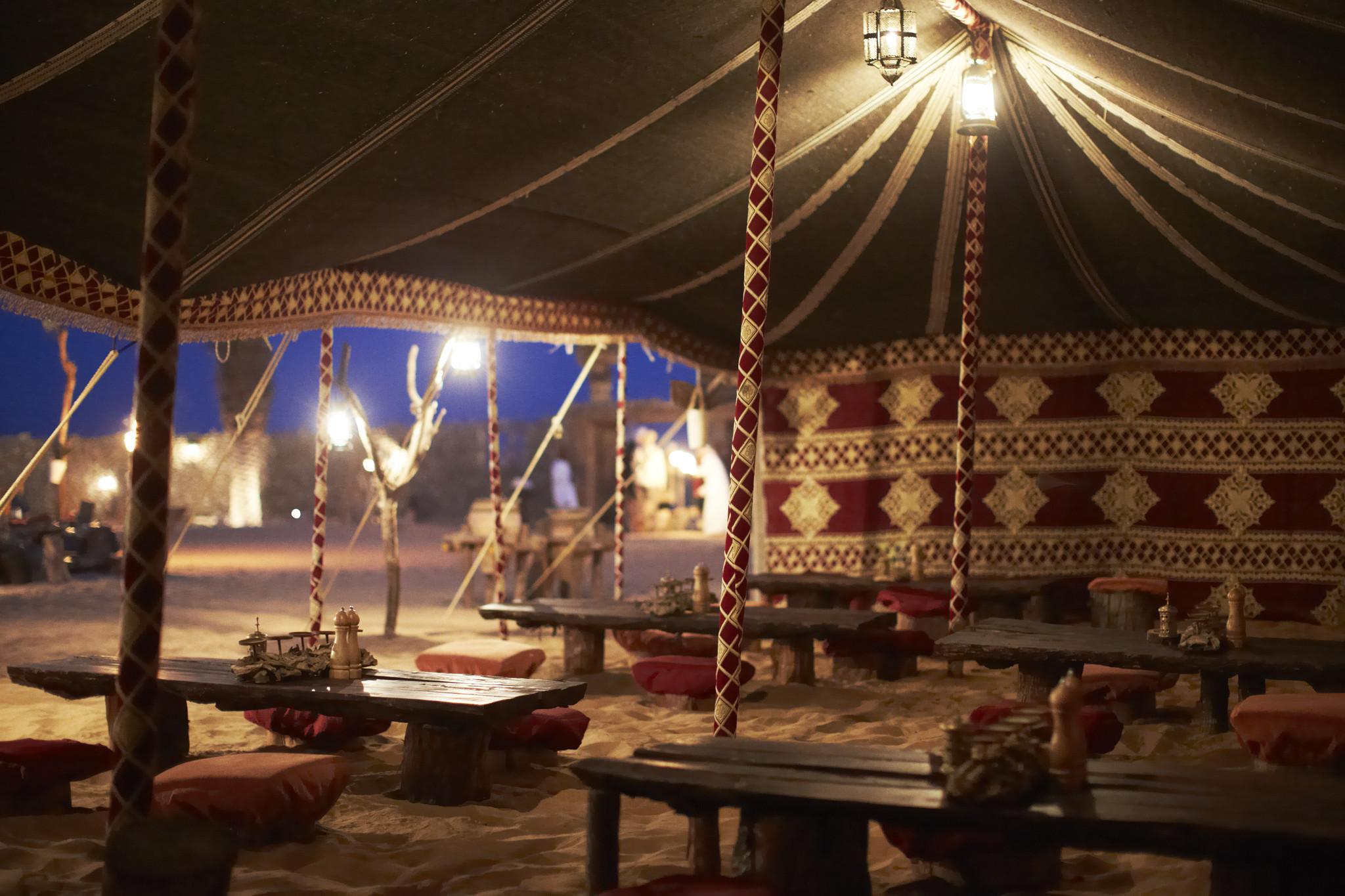 Dubai Ovenight Tour Includes Breakfast With A Bedouin