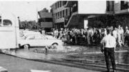 La Cañada History: Broken fire hydrant, cafeteria fire mar the day at LCHS