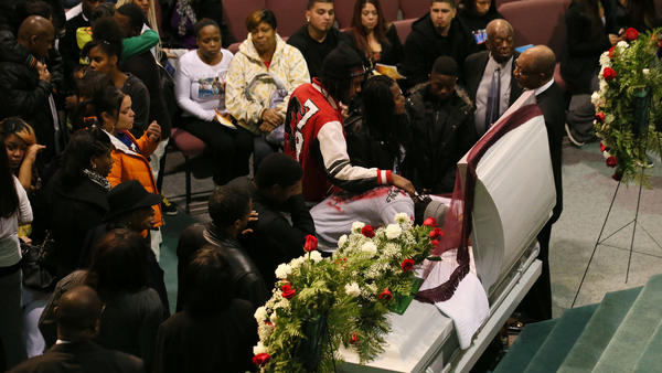 Christopher Anderson funeral