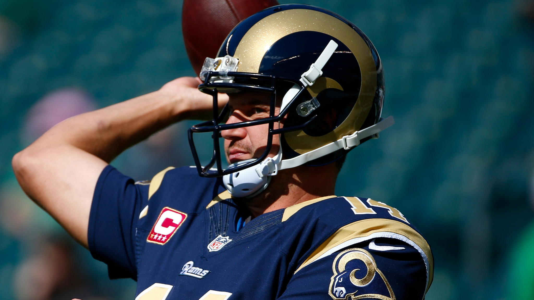 Shaun Hill To Start For Rams At Quarterback Daily Press