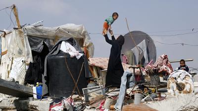 Gaza war destruction