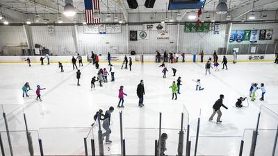 Nice out on the ice: Public parks' skating rinks open for season
