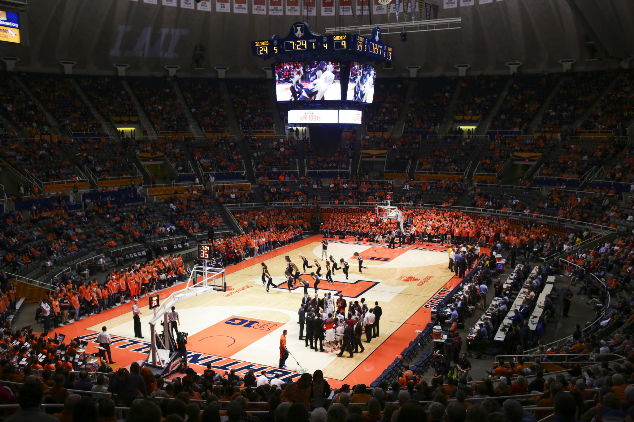Illini Say Arena Overhaul Will Be Worth The Wait Chicago