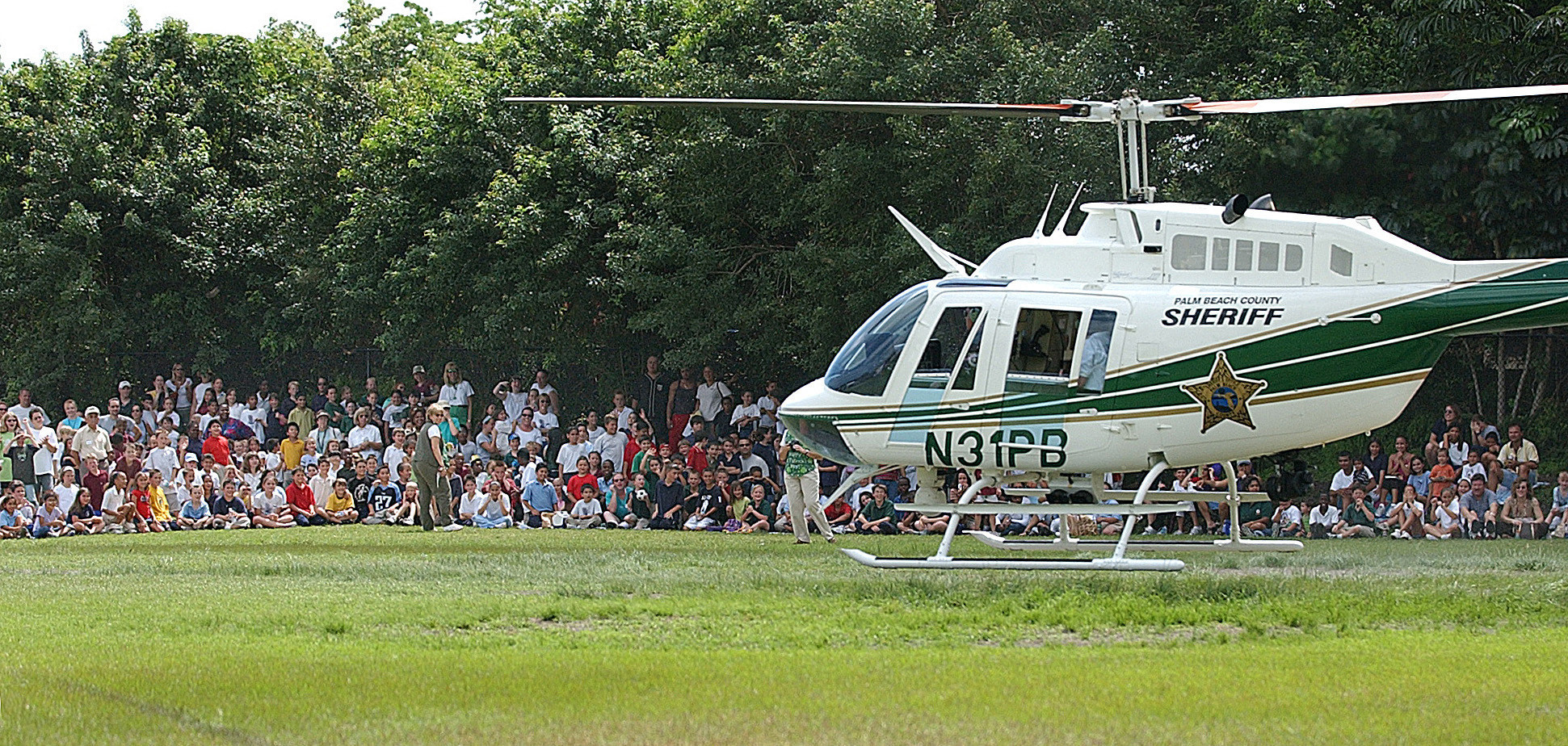 Palm Beach Sheriff Helicopter