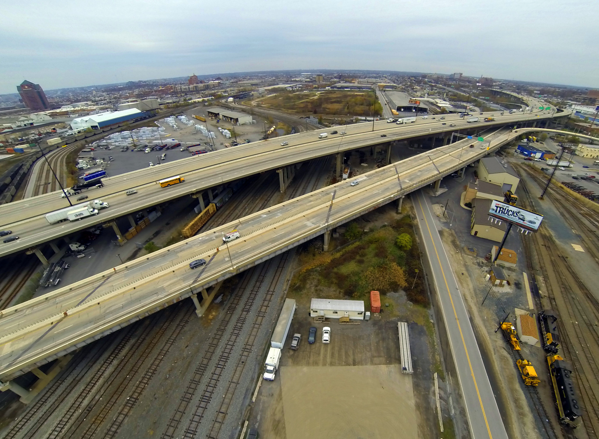 five year construction project on i 895 north of harbor