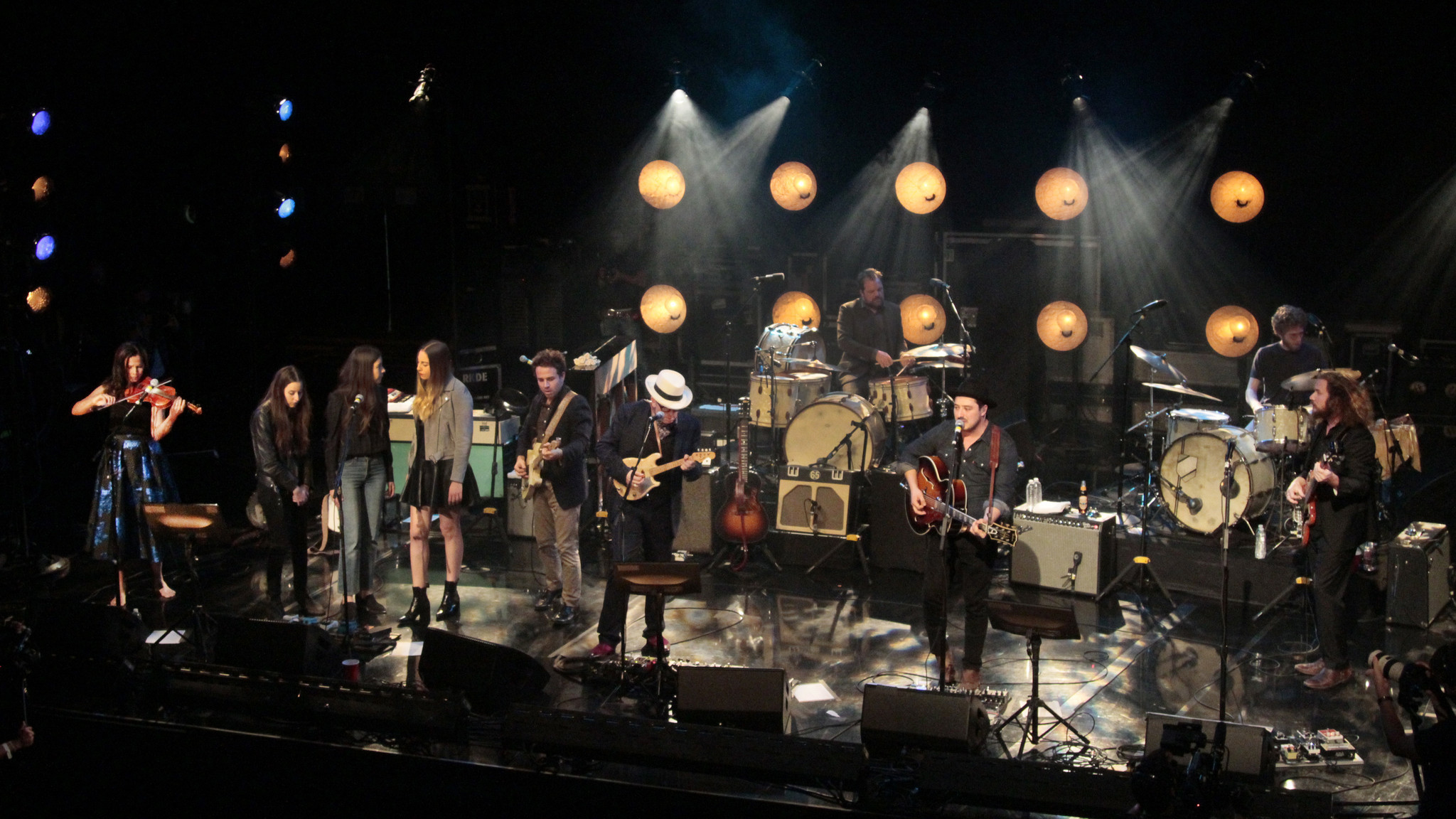 review new basement tapes group takes dylan songs live in