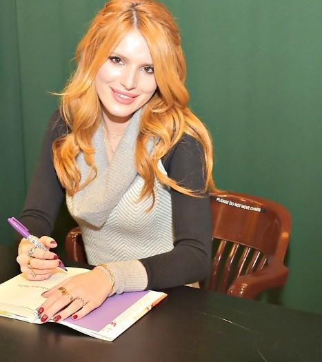 Bella Thorne book signing Miami