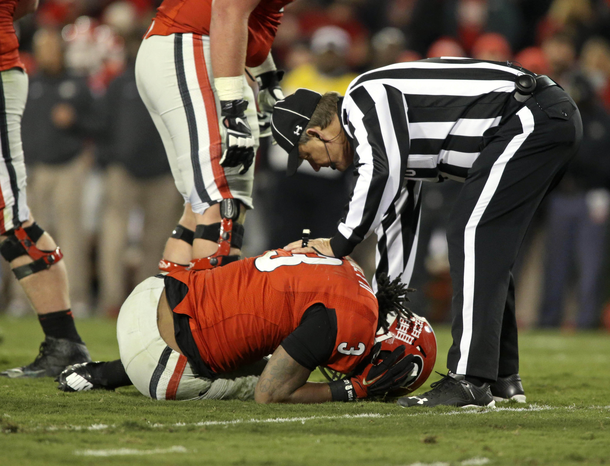Georgia Rb Todd Gurley Suffers Torn Acl