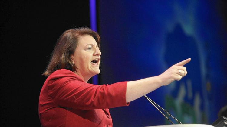 Former Assembly Speaker Toni Atkins (D-San Diego). (Gary Friedman / Los Angeles Times)